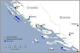 Nautical Charts Croatia Free Sailing The Dalmatian Coast Southern Croatia Jimb Sail