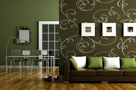 Use of Colors for Room Decorating Ideas : Green And Brown Room Decorating  Ideas