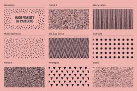 Illustrator Pattern Swatches Beauteous Lithotone Distressed Patterns Swatches For Illustrator Graphics