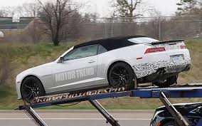 Spyshots: 2014 Chevrolet Camaro ZL1 Coupe and Convertible Snapped ...