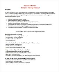 Free Sample Proposal Template Business Proposal For Services ...