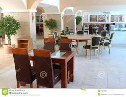 Modern Restaurant Furniture Royalty Free Stock graphy Image