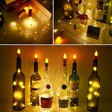 Nút chai rượu có đèn LED độc đáo - Đèn trang trí