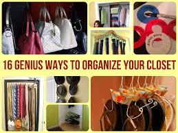 16 genius ways to organize your closet jpg