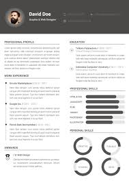 Free Clean Resume Template Free Design Resources