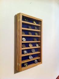 wall mounted challenge coin case by brownwaterdesigns