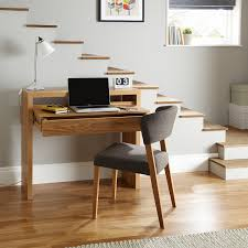 vintage white stained oak wood office desk and upholstered chairs most seen gallery in the splendid ideas appealing design ideas home office interior