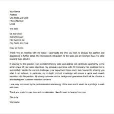 Thank You Letter After Second Interview Group Cover Letter Templates