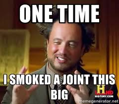 ONE TIME I SMOKED A JOINT THIS BIG - Giorgio A Tsoukalos Hair ... via Relatably.com