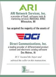 Ari Network Services Dci Bcc Advisers