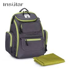 Designer Diaper Bags Us 27 69 8 Off Insular Nylon Baby Diaper Bag Fashion Maternity Nappy Diaper Bag Backpack Designer Diaper Stroller Bags In Diaper Bags From Mother