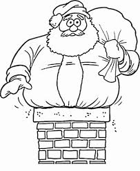 Small Picture Coloring Page Of Santa aecostnet aecostnet