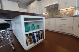 Kitchen Bookcase Affordable Custom Cabinets Showroom