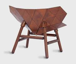 Unique wood chair Unusual Garden Back Of Unique Wooden Chair Inspired By Exoskeleton Marvelbuildingcom Unique Wooden Chair Inspired By Exoskeleton Exo Chair Home