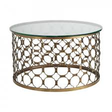 coffee table classy chrome glass coffee table round marble top
