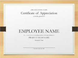 Microsoft Powerpoint Certificate Template 5 Printable Years Of Service Certificate Templates Word