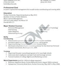 Public Relations Resume Templates Resume Example Great Resume