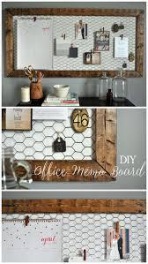 easy diy rustic office memo board littleglassjar com