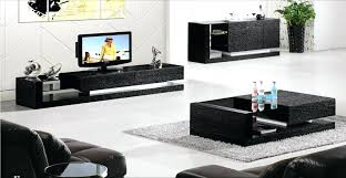 coffee table and tv stand set black wood house furniture 3 piece set coffee cabinet and coffee table and tv stand set