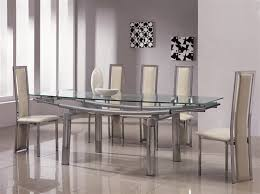 amazing of extendable glass dining table set modern glass dining tables uk dining top glass delta