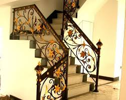 Iron Stairs Design Indoor China Best Material Wrought Iron Indoor Stair Railing Photos