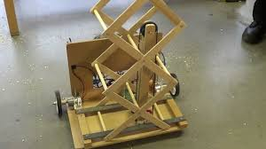 student robotics thunderbots scissor lift prototype with pulley system v01 you