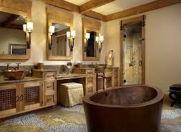 Rustic Bathroom Gallery marvellous rustic bathroom lighting ideas