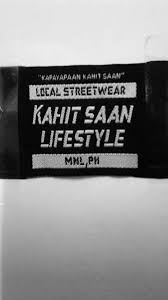 Tiketa MNL - Kahit Saan <b>Lifestyle Woven Label</b> Highdensity ...