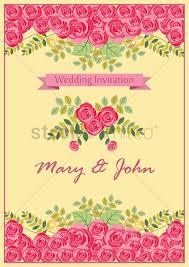 Alia Designs Invitations Wedding Invitation Design Vector Image 1987025
