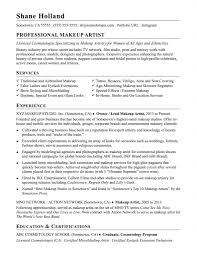 Makeup Artist Resume Samples And Full Writing Guide Examples Cv