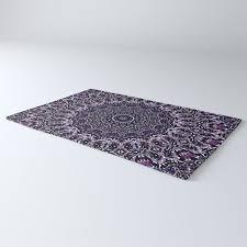 purple gray and black kaleidoscope 2 rug