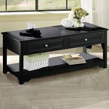 Get it as soon as tue, apr 20. Home Decorators Collection Oxford 44 In Black Large Rectangle Wood Coffee Table With Drawers 5026610210 The Home Depot