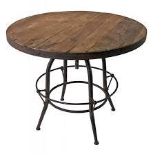 coffee table furniture wonderful reclaimed wood round dining tables with iron base design circular trestle best