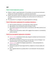 describe and evaluate the behavioural approach to the explaining  page 2