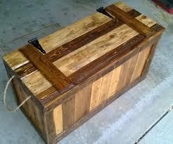 wood pallets furniture. False Bottom Trunk From Reclaimed Wood (Pallets) Wood Pallets Furniture