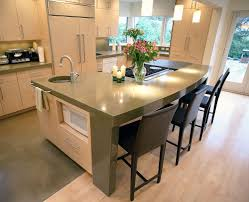 Kitchen Counter Display Kitchen Countertop Ideas On A Budget Floor To Ceiling Display