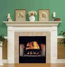 build your own homemade fireplace mantel