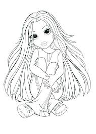American Girl Coloring Book Girl Coloring Pages Free Free Girl