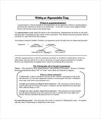 essay templates word pdf documents  argumentative essay templates