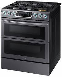 samsung black stainless stove. Wonderful Black NX58K9850SG Samsung 30 In Black Stainless Stove