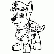 25 Printen Paw Patrol Robot Hond Kleurplaat Mandala Kleurplaat