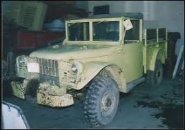 restoration of a 1963 dodge m37 military utility truck dodge m37 on arrival