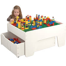 amazoncom cp toys activity table with trundle drawer for