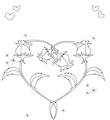 Coloring Pages Small Heart Coloring Book Pages Valentine Page