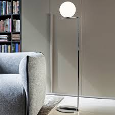 Ic Floor Lamp Chrome F2