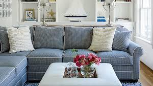 coastal living room design. Dark Blue Maine Family Room Coastal Living Design T