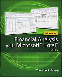 Financial Analysis Of Microsoft Financial Analysis With Microsoft Excel Timothy R Mayes