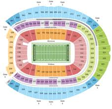 Denver Broncos Stadium Seat Chart Best Picture Of Chart