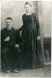 Charles Fletcher and Ida Dunn Wineinger - 1887 Wedding Photo | Photo,  Wedding photos, Dunn