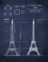 architecture blueprints. Interesting Architecture Eiffel Tower Architectural Blueprints Art 8 X 10 By ScarletBlvd 2500 To Architecture Blueprints A